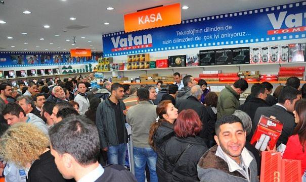 Vatan Bilgisayar 1 Ayda 7 Mağaza Açacak