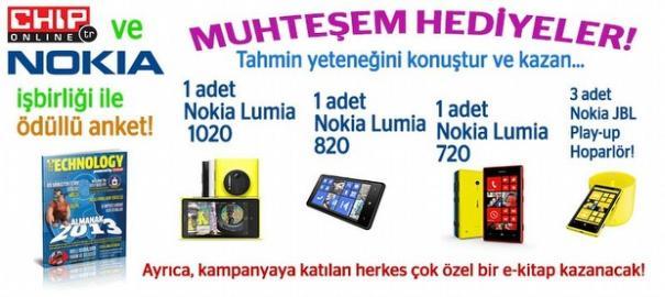 Nokia Lumia 1020 ve Daha Fazla Hediye Kazanmak İster Misiniz?