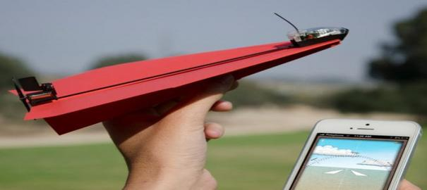 Kağıt Uçaklarda Artık Akıllı Oldu
